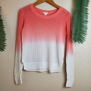 BP ombre sunset knit sweater